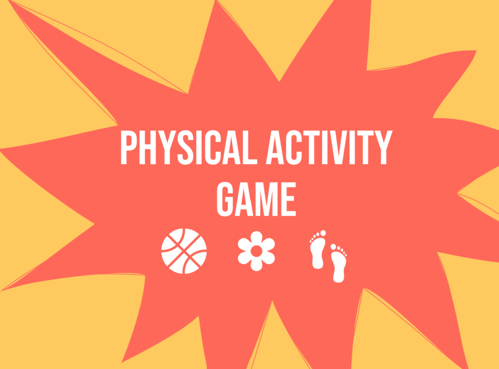 Game cards – Let's get moving