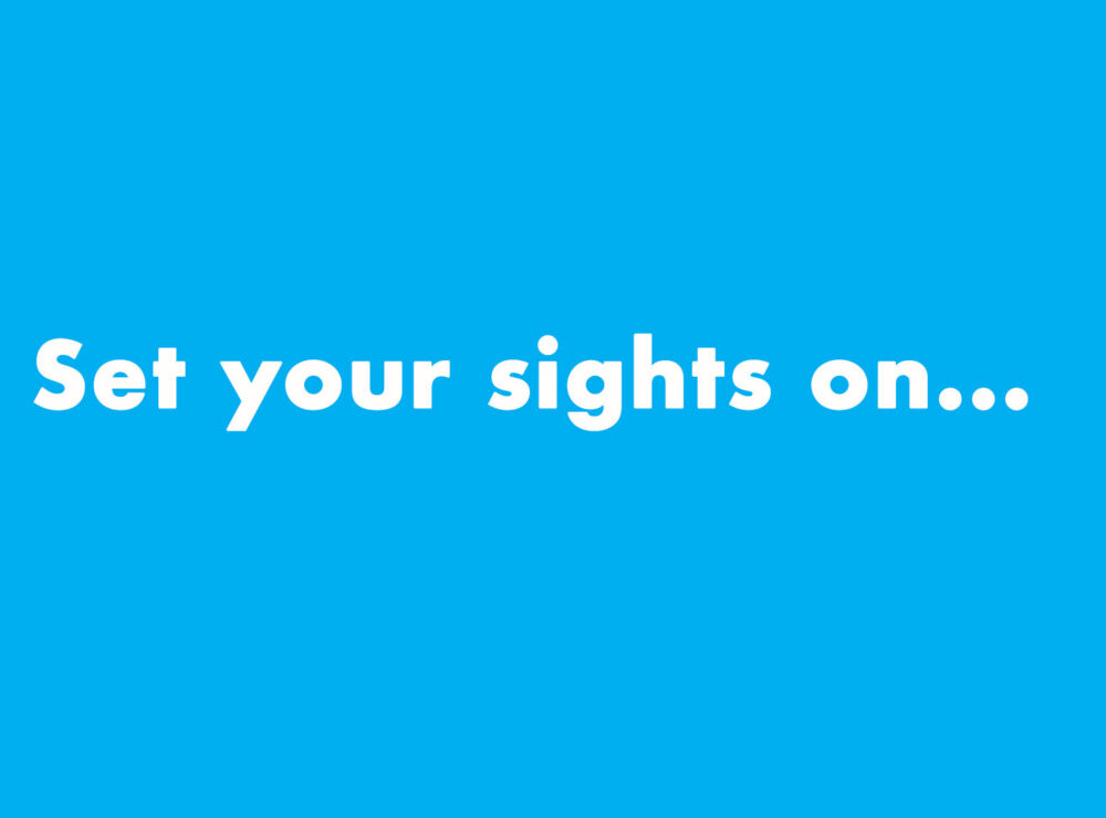 Set your sights on… Water