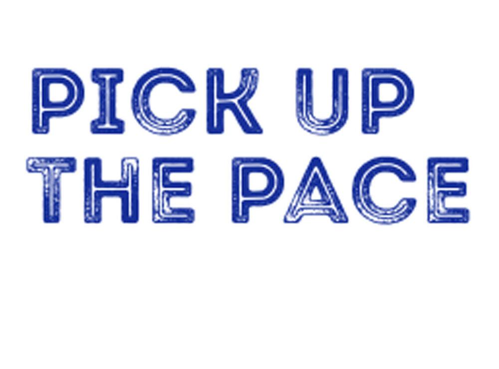 Pick up the pace TOUGO