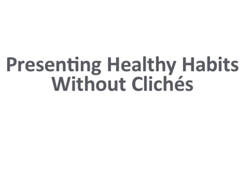 Presenting HH without clichés